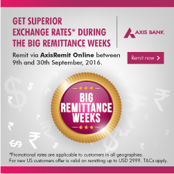 Axis Bank special offer